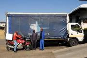 ROAD FREIGHT AND COURIER SERVICE: +27 +27 11 750 4996
