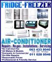 Friendly & Professional Fridge, Freezer & Aircon Repairs