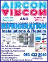 All Areas - Fridge, Freezer & Aircon Repairs