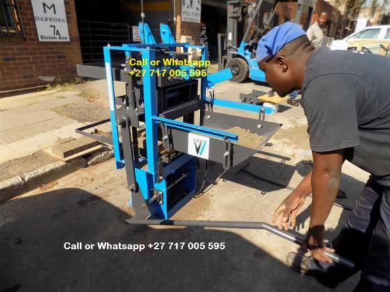 3 PHASE brick making machine on sale,