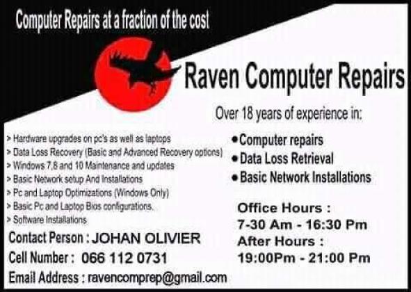 Computer Repairs Rustenburg