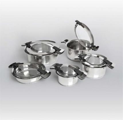 COOKWARE 10 PC CAPRI Exclusive Homeware Bon Appetit Pot Set - Demo set as new