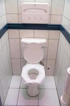 LADIES PROTECT YOUR SELF FROM TOILET INFECTIONS BY BUYING DISPOSABLE TOILET SEAT COVERS