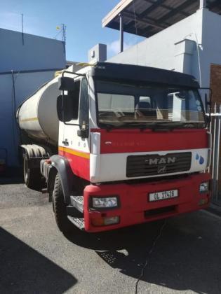 MAN M2000 with a 16000 Aluminium Tank in Stellenbosch, Western Cape