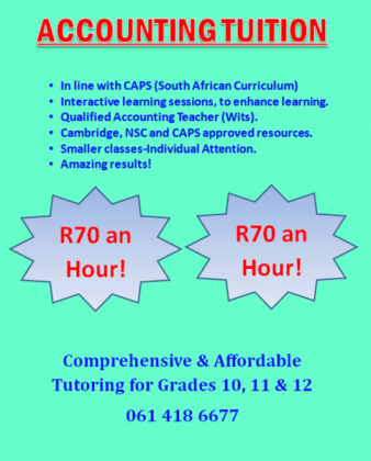 Tuition homework and school assistance