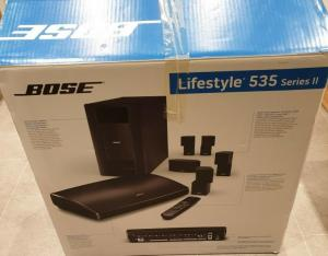 Brand new Bose Lifestyle 535 series II in white...