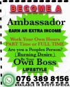 Ambassadors Needed