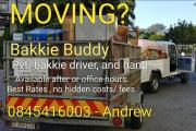 Bakkie Buddy - Pvt transport and mover