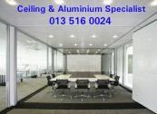 Ceiling & Aluminium Specialist in Mpumalanga Nelspruit. Tel: 0135160024