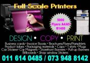 Design and Printing Service