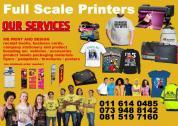 Graphic Design Printing Fabric Printing Web Design & Hosting