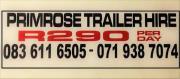 Primrose Trailer Hire (Engen Garage)