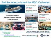 Specials on the MSC Orchestra