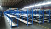 Bolted steel shelving, mezzanine flooring and pallet racking