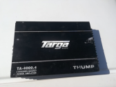targa amplifier with sony Xplod subwoofer