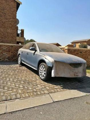 Audi A4 with no engine