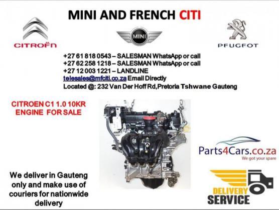 Citroen c1 engine for sale