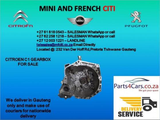 Citroen c 1 gearbox for sale