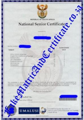 No more worries get your matric certificate