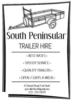 SOUTH PENINSULAR TRAILER HIRE in Other Western Cape, Western Cape