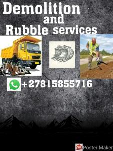 Fsbby demolition and rubble 0815855716