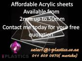 Affordable Acrylic Sheets