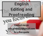 English Editing / Proofreading / Editor