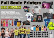 Full Scale Printing, Design and Application