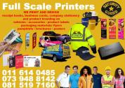 Graphic Design & Print Shop, Smart Card Printing and Embossing, - Johannesburg