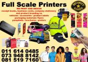 Graphic Design Printing Fabric Printing Web Design & Hosting