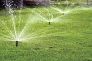 INSTALLATION OF IRRIGATION SPRINKLERS