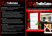 JJ TRELLIS GATES - YOUR PARTNER IN SECURITY AND SAFETY (WINDOWS AND DOORS)