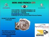 Peugeot 107 gearbox for sale