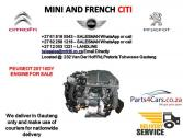 Peugeot 207 10DY engine for sale