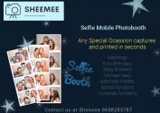 Photo booth Selfie box services.