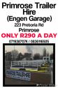 Trailer Hire Primrose (Engen Garage) 24 HRS