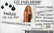 Vocal Coaching with Fit for Music