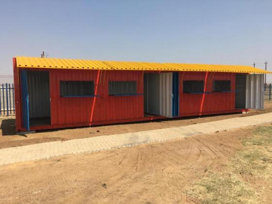 6 & 12 Meter Spaza / Tuckshop Containers