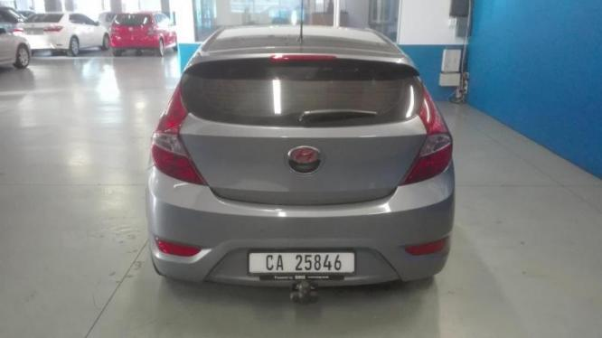 2015 HYUNDAI ACCENT 1.6 FLUID 5Dr  WITH 90000km