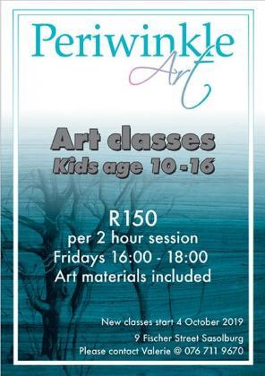 Art classes for teenagers