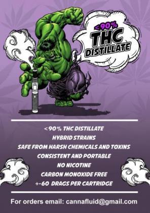 Canna fluid - THC distillate for Vape pens