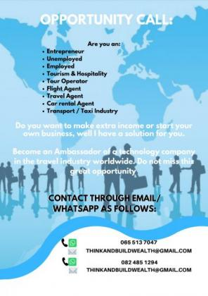 OPPORTUNITY TO START OR GROW BUSINESS in Midrand, Gauteng