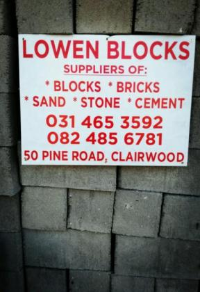Paving and concrete blocks and bricks