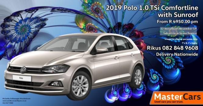 Polo 1.0 TSi Comfortline with Sunroof