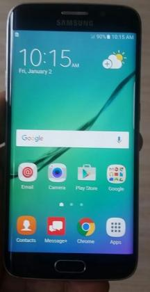 Samsung galaxy s6 edge smartphone for sale,very good condition