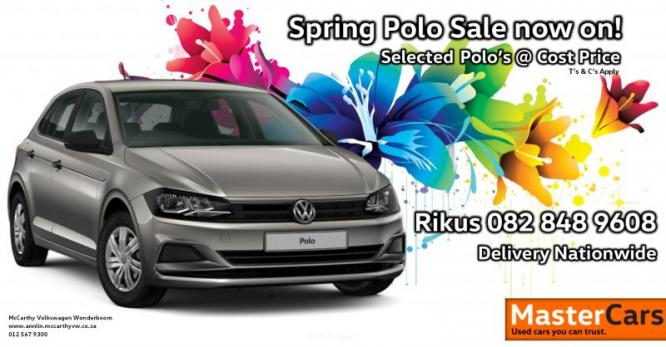 Spring Polo Sale now on!