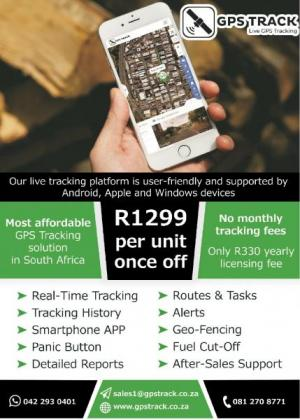 Track Your Vehicles with The Most Affordable GPS Tracking Solution in SA in Cape Town, Western Cape