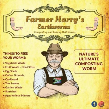 Farmer Harrys Earthworms - Garden , Fishing and Pet Treats in Southern Suburbs, Western Cape