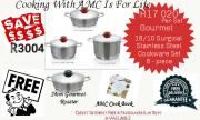 6 piece Gourmet Pot Set