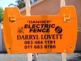 Electric Fence Compliance Certificate